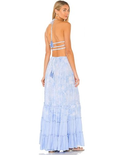 Платье на бретелях - синее Tiare Hawaii