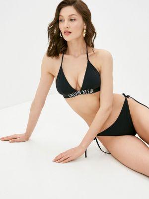 Черный купальник с завязками Calvin Klein Underwear