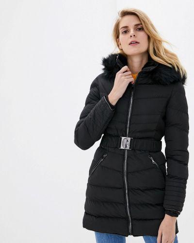 Теплая черная куртка Softy