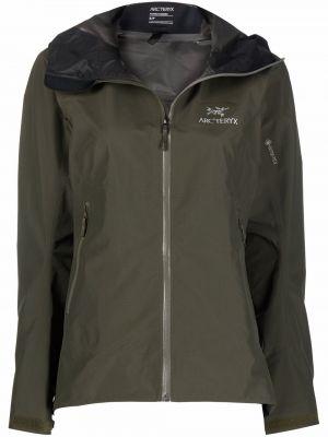 Куртка с капюшоном - зеленая Arcteryx
