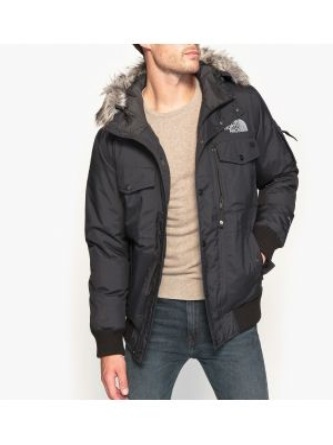 Куртка с капюшоном укороченная хлопковая The North Face