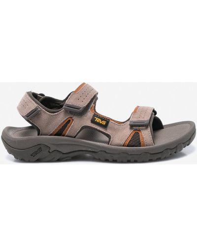 Коричневые сандалии Teva