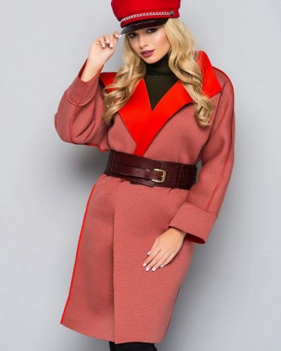 Пальто с капюшоном 0101 Brand
