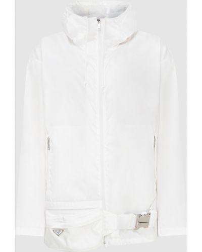 Куртка - белая Prada