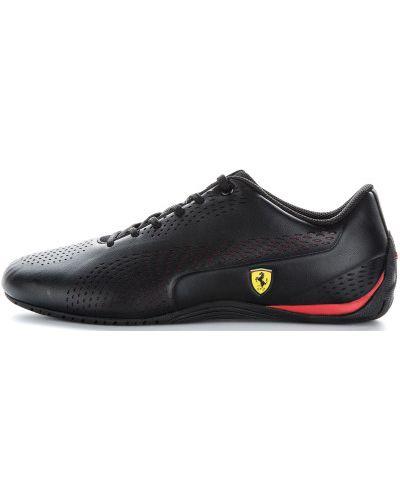 Черные кроссовки на шнуровке Puma