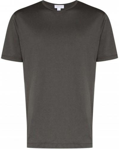 Прямая футболка Sunspel
