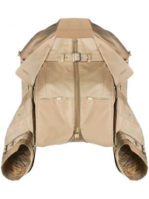 С рукавами куртка свободного кроя на молнии с карманами Junya Watanabe Comme Des Garçons Pre-owned