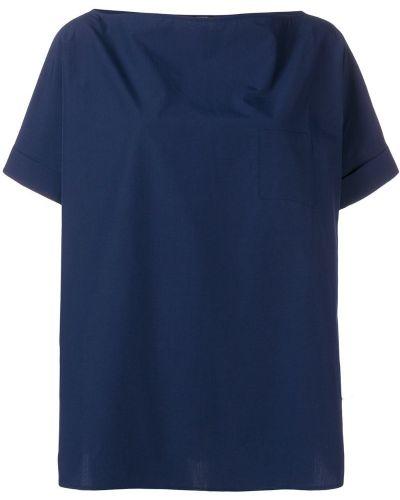 Блузка короткая с вырезом Apuntob