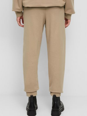 Хлопковые спортивные брюки - бежевые Marc O'polo Denim