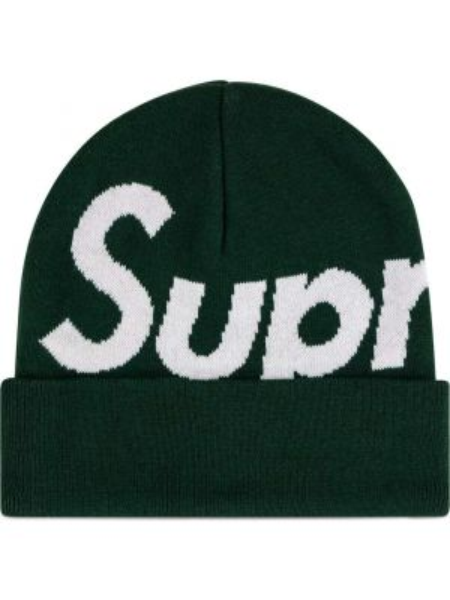 Trykotowy kapelusz z logo zimowy Supreme