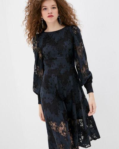 Платье - синее Gepur