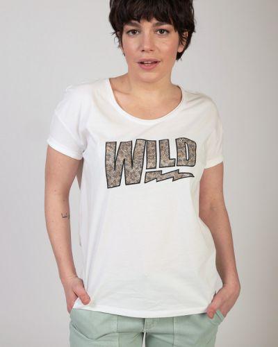 Хлопковая футболка Ouí