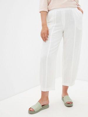 Зауженные белые брюки Intikoma