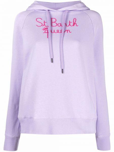 Фиолетовая кофта классическая Mc2 Saint Barth