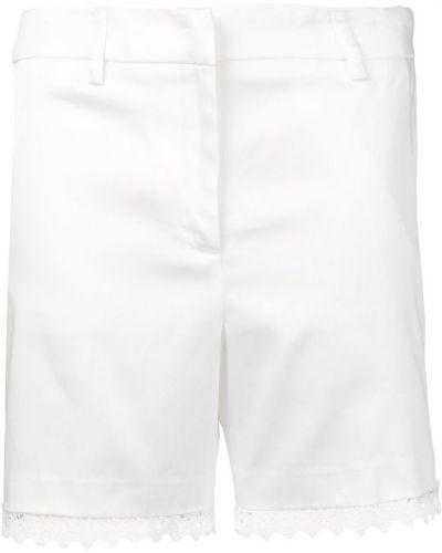 Белые шорты с карманами Blumarine