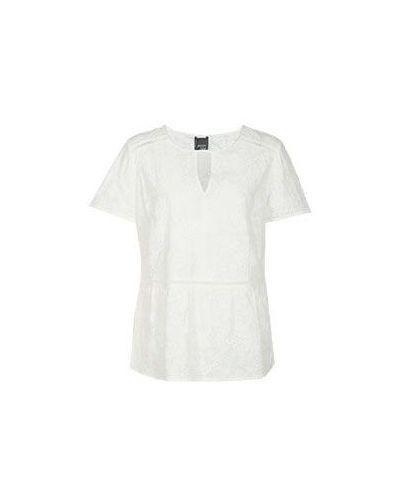 Белая блузка хлопковая Persona By Marina Rinaldi