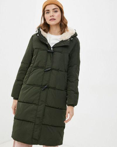 Зеленая теплая куртка S.oliver