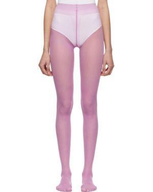 Колготки нейлоновые фиолетовый Gucci