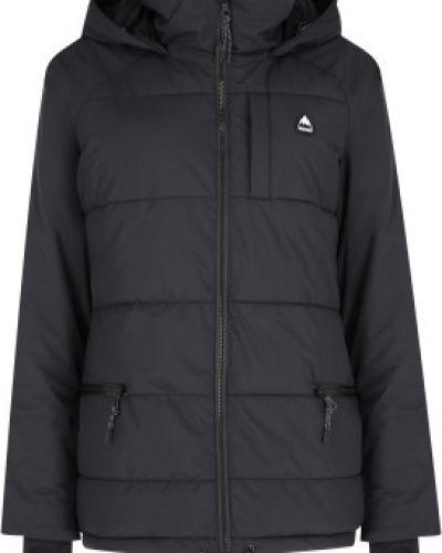 Черная утепленная куртка горнолыжная сноубордическая Burton