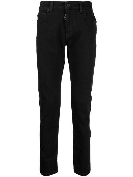 Bawełna czarny obcisłe dżinsy z kieszeniami Off-white