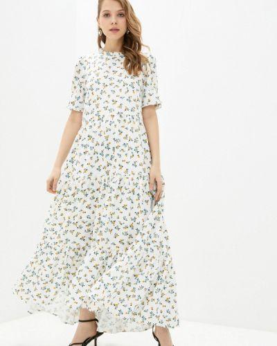Прямое белое платье А-силуэта Sister Jane