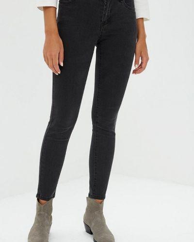 Серые джинсы-скинни Incity