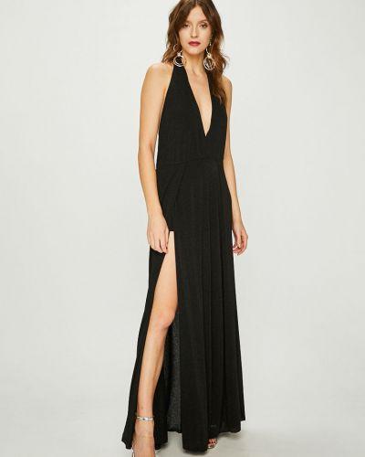 Платье макси с V-образным вырезом прямое Answear