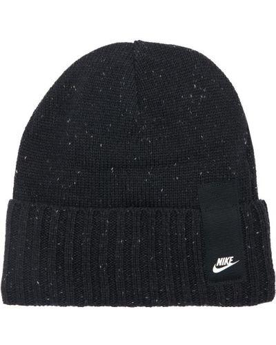 Теплая шапка - черная Nike