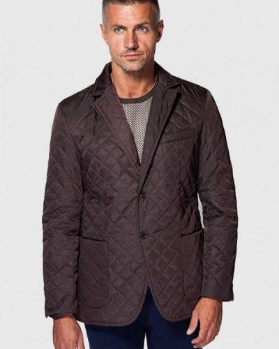 Утепленная куртка - коричневая Arber