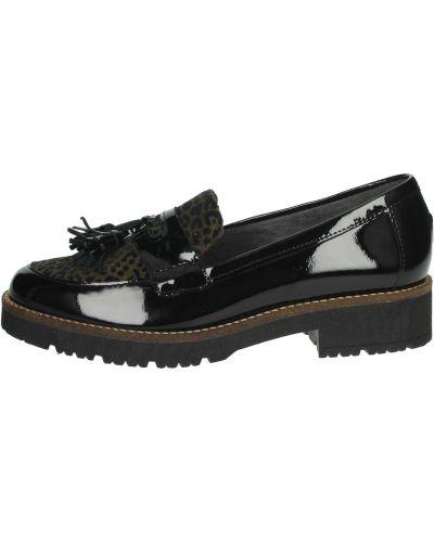 Czarne loafers Pitillos