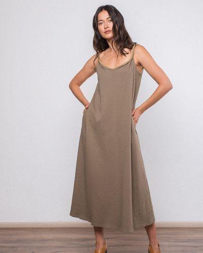 Платье с карманами хаки Mr520