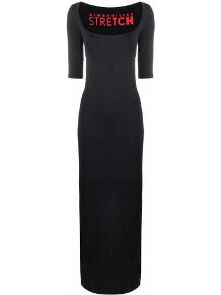 Sukienka midi - niebieska Simon Miller