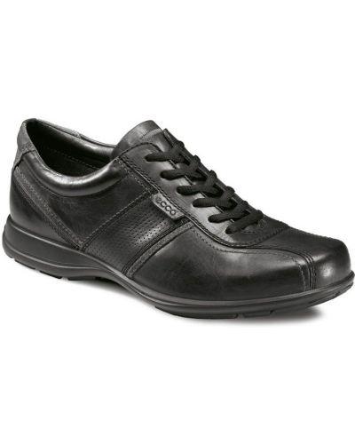 Кожаные полуботинки на каблуке с подкладкой Ecco