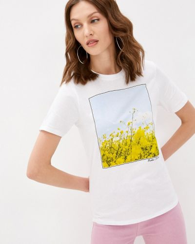 Белая футболка с короткими рукавами Zabaione