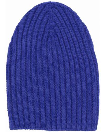 Niebieska czapka prążkowana Barrie