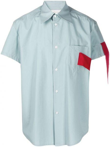 Рубашка с короткими рукавами с воротником Namacheko