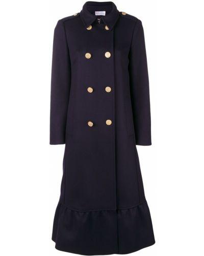 Пальто классическое расклешенное с воротником Red Valentino