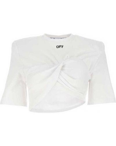 Biały bolerko z cekinami Off-white