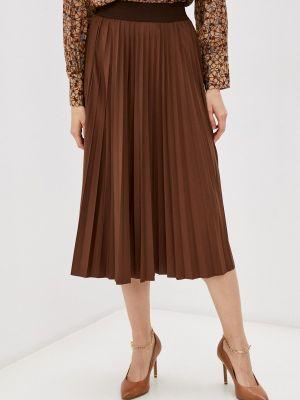 Плиссированная юбка - коричневая Rich&royal
