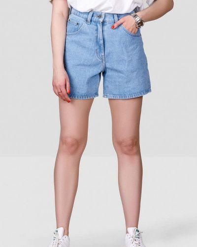 Джинсовые шорты - голубые Minnim