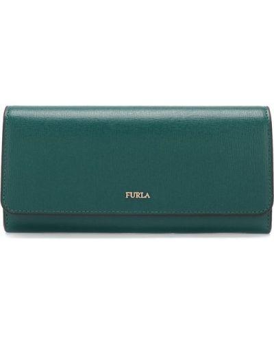 Кожаный кошелек с логотипом Furla