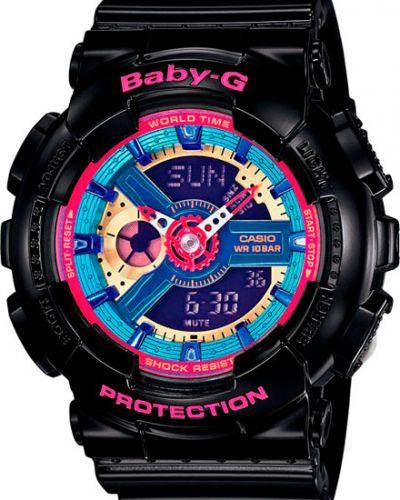 Кварцевые часы водонепроницаемые с подсветкой Casio