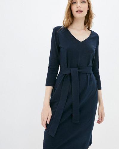 Платье - синее Stefanel