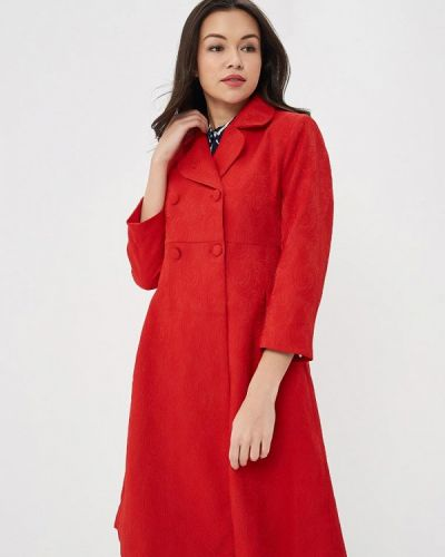 Красное пальто весеннее Incity