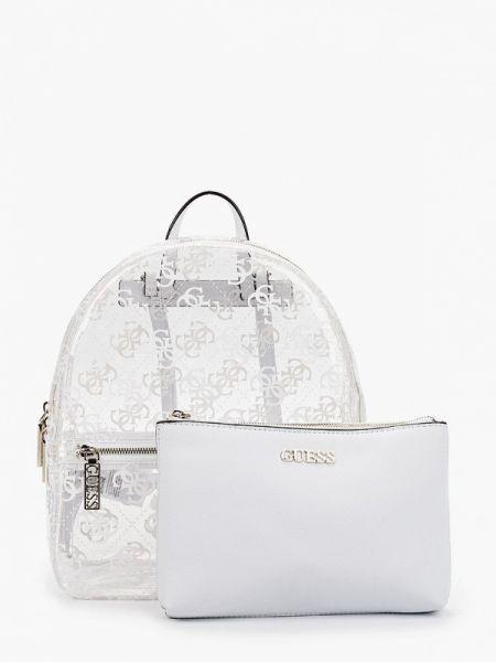 Городской белый рюкзак Guess