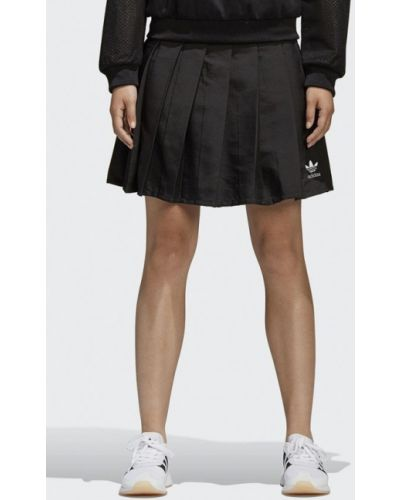 Черная юбка Adidas Originals