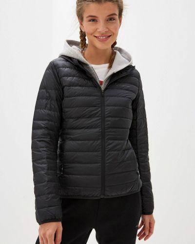 Утепленная куртка осенняя черная Anta