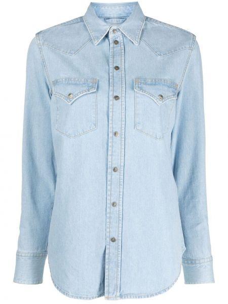 Koszula jeansowa - niebieska Diesel