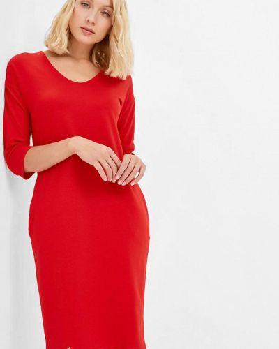 Платье - красное Makadamia