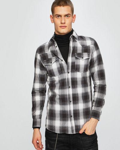 87d2db1343e Рубашка с длинным рукавом в клетку с карманами Produkt By Jack   Jones